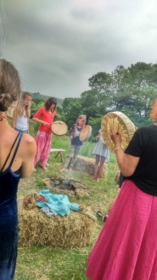 drumming and ceremony